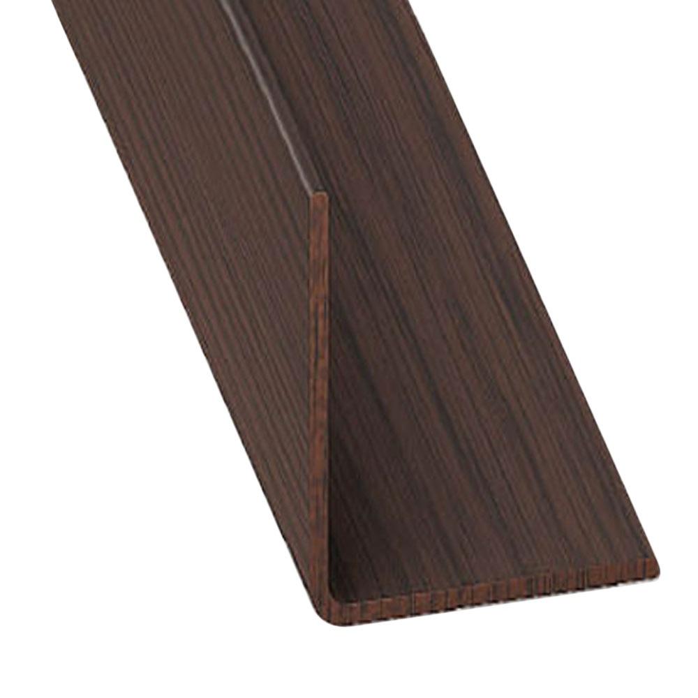 Ngulo pvc madera caoba ref 632562 leroy merlin Madera leroy merlin