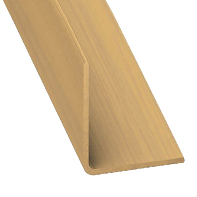 Ngulo pvc madera roble ref 632541 leroy merlin for Cobertizos de madera leroy merlin