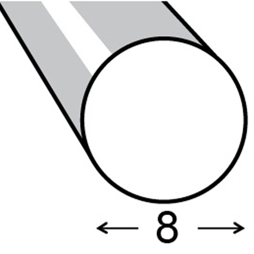 Redonda fibra vidrio blanco leroy merlin for Varillas de fibra de vidrio leroy merlin