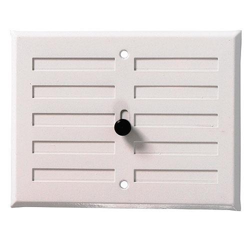 Rejillas regulable airflow system sobreponer blanco - Rejilla de ventilacion regulable ...