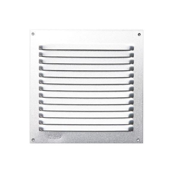 Rejilla de sobreponer airflow system sobreponer plata - Rejillas ventilacion aluminio ...