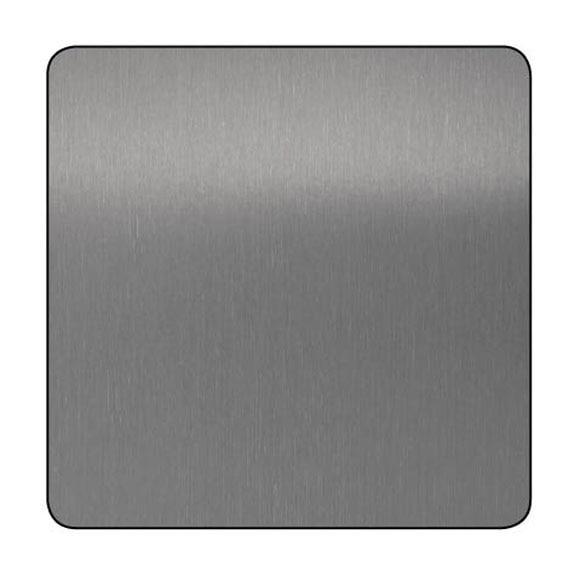 Chapa de aluminio anodizado gris lijado ref 13850025 - Chapa aluminio leroy merlin ...