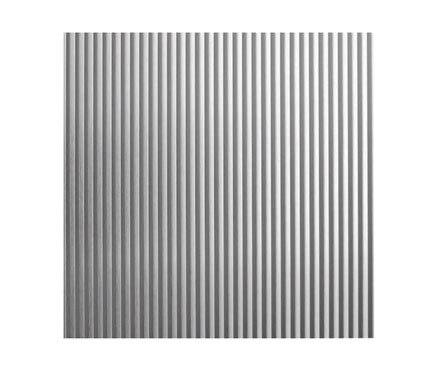 Chapa de aluminio anodizado ondulado ref 12715654 leroy - Chapa aluminio leroy merlin ...