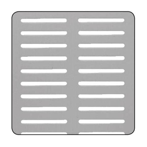 Chapa de aluminio anodizado perforado canal ref 13850263 - Chapa aluminio leroy merlin ...
