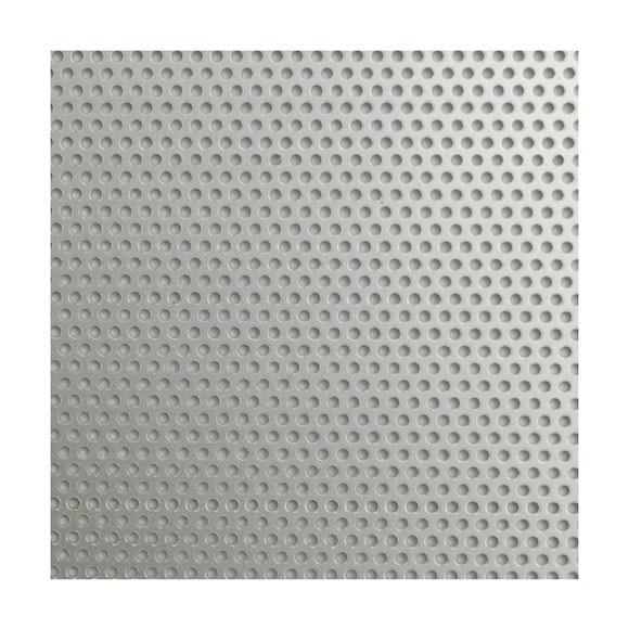 Chapa de aluminio anodizado perforado redondo ref for Plancha aluminio leroy merlin