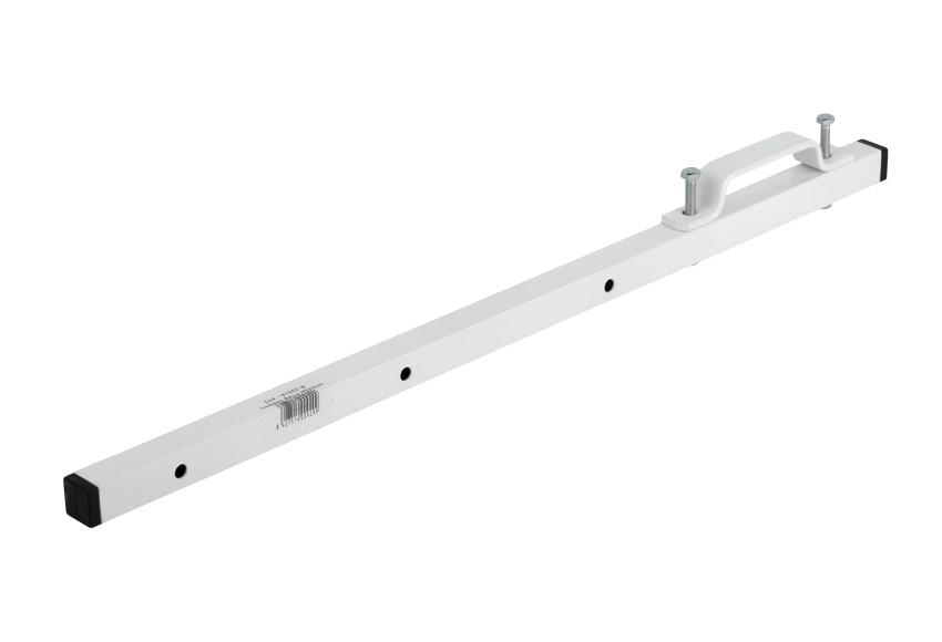 Tendedero de balc n blanco ref 12351360 leroy merlin for Colgadores de ropa de pared