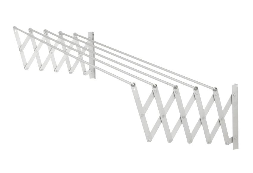 Tendedero de pared acorde n 120 cm epoxi ref 14029211 for Colgadores de ropa de pared