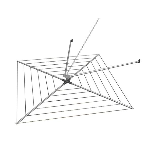Tendedero giratorio avi n eolo aluminio ref 16509661 - Barras para colgar ropa leroy merlin ...
