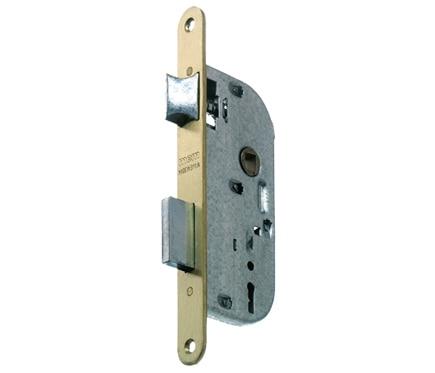 Cerradura para puerta de madera mcm 1308 latonado ref 11160793 leroy merlin - Cerradura de puerta de madera ...