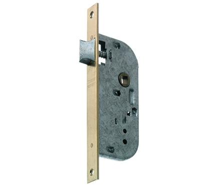 Cerradura para puerta de madera mcm 1310 latonado ref 11160891 leroy merlin - Cerradura de puerta de madera ...