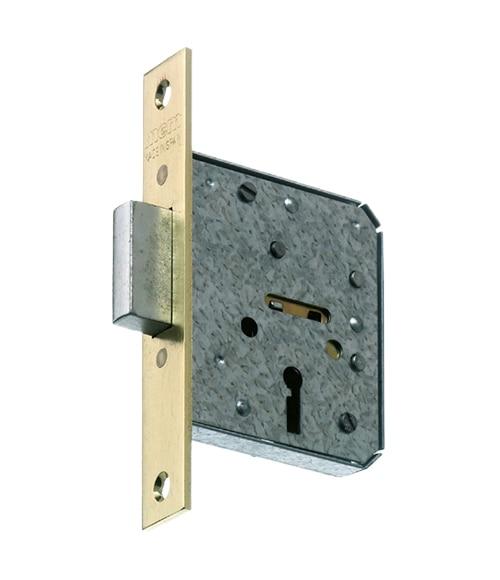 Cerradura para puerta de madera mcm 1513 latonado ref - Leroy merlin cerraduras ...