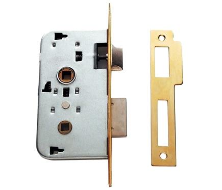 Cerradura para puerta de madera tesa 2000 2004 latonado - Leroy merlin cerraduras ...