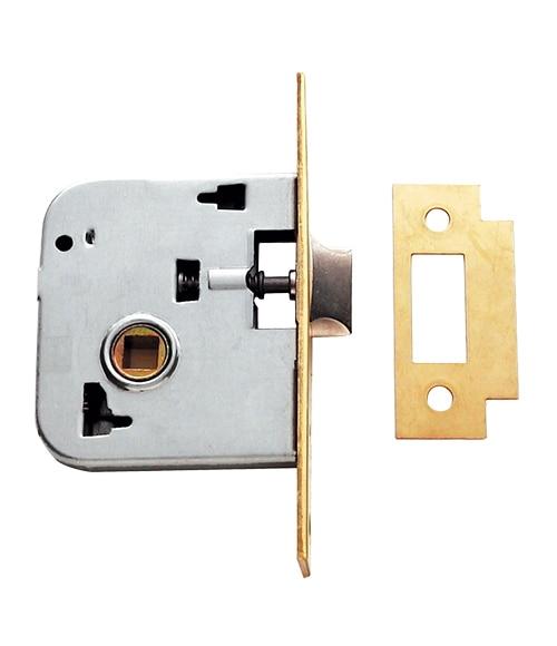 Cerradura para puerta de madera tesa 2000 2005 latonado - Leroy merlin cerraduras ...