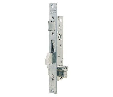 Cerradura para puerta de metal tesa 2210 2210b inoxidable for Cerraduras tesa leroy merlin