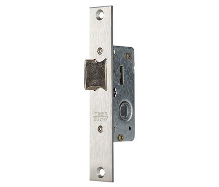 Cerradura para puerta de metal tesa 2210 2215d inoxidable for Cerraduras tesa leroy merlin