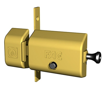 Cerrojo Fac 446rp80 Magnet Uve Dorado Ref 19002865 Leroy Merlin