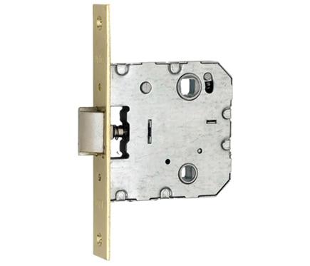 Cerradura para puerta de madera azbe 512 inoxidable ref - Cerraduras puertas madera ...