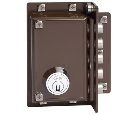 Cerradura para puerta de madera jis 5239 marron ref 663313 leroy merlin - Cerradura de puerta de madera ...