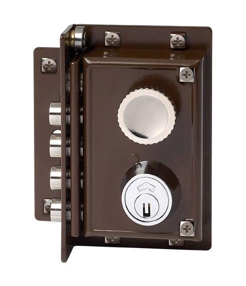 Cerradura para puerta de madera jis 5240 marron ref 663355 leroy merlin - Cerradura de puerta de madera ...