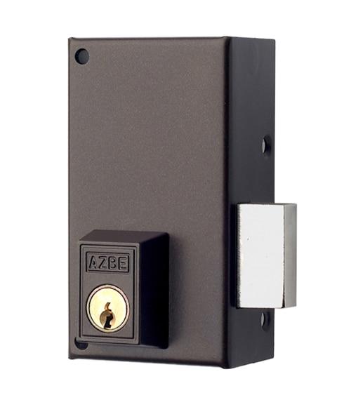 Cerradura para puerta de madera azbe 56 c marron ref - Leroy merlin cerraduras ...