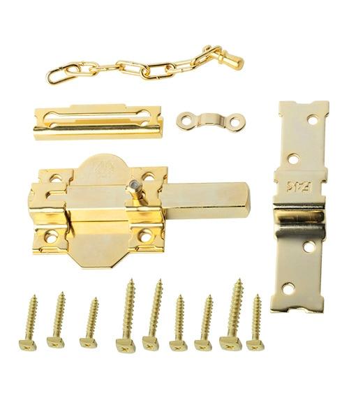 Cerrojo Fac P 86 Dorado Ref 14429562 Leroy Merlin