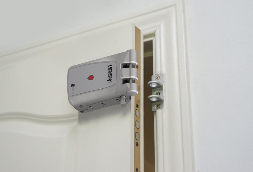 Cerradura de seguridad invisible gescasi remock lockey pro for Amaru en la puerta de un jardin