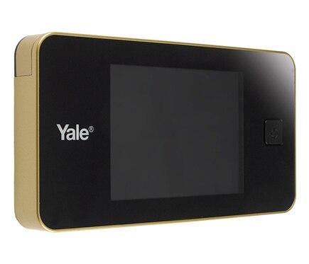 Mirilla digital para puerta yale dorada ref 16510396 - Mirilla puerta digital ...