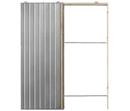 Gu a encastrable para puerta corredera puerta simple 70 - Guias para puerta corredera ...