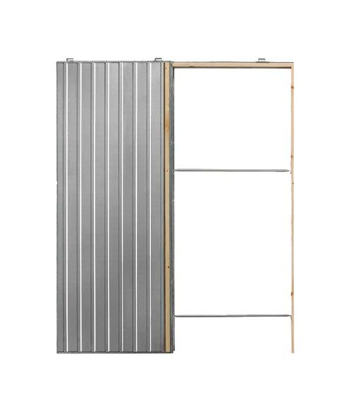 Gu a encastrable para puerta corredera puerta simple 80 ref 14611282 leroy merlin - Guia para puerta corredera ...