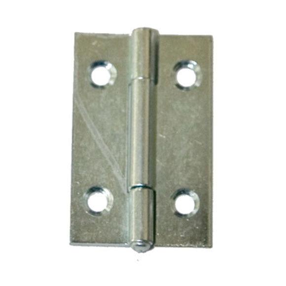 Bisagra estrecha rectangular cincada 3 ref 14945735 - Bisagras leroy merlin ...