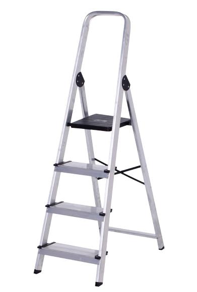 Escalera de tijera dom stica altipesa aluminio 4p anchos - Escaleras aluminio leroy merlin ...