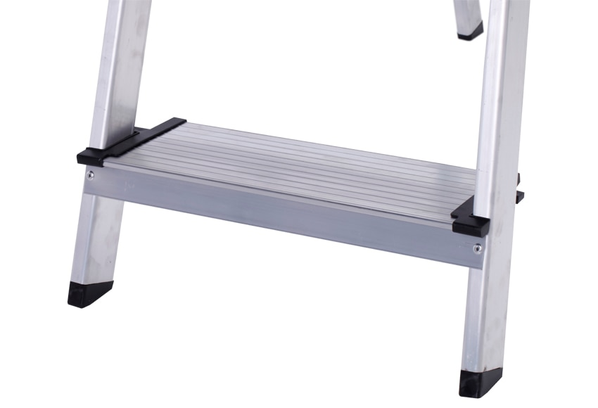 Escalera de tijera dom stica altipesa aluminio 5p anchos - Escaleras aluminio leroy merlin ...