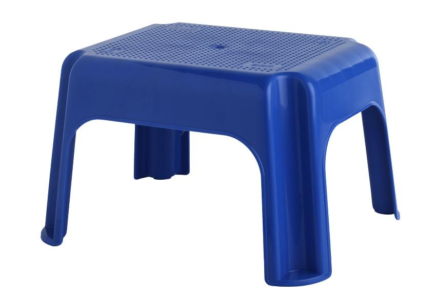 mini taburete pl stico bajo azul oscuro ref 15842043