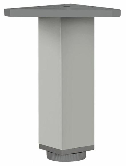 Pata de aluminio cuadrada h150 40x40 ref 13534640 leroy - Patas de aluminio para muebles ...