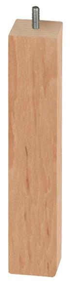 Pata de madera cuadrada h360 50x50 ref 14962815 leroy - Patas torneadas de madera ...