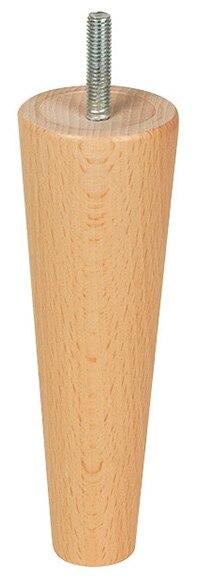 Pata de madera c nica h150 d50 ref 14962934 leroy merlin - Patas torneadas de madera ...