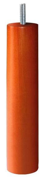 Pata de madera redonda SOMIER MADERA Ref. 14962955   Leroy Merlin