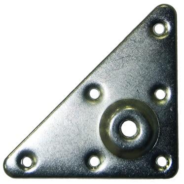 2 placas de hierro TRIANGULAR M10