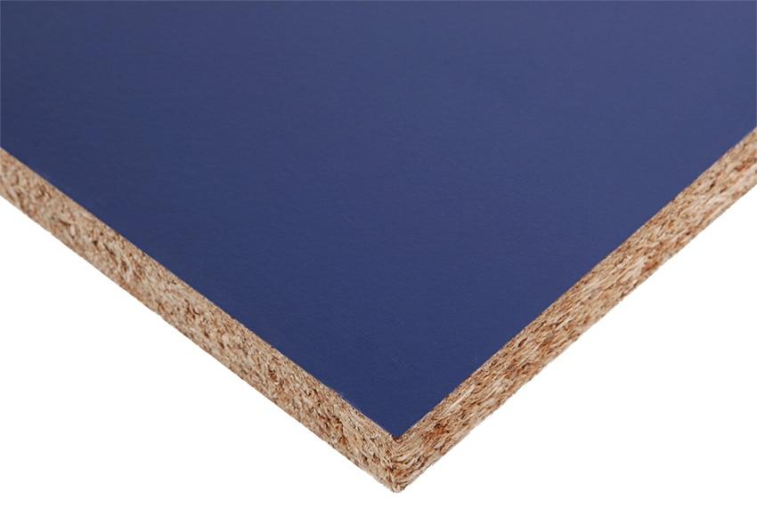 Tablero melamina azul melamina azul ref 14631995 leroy - Corte tableros a medida leroy merlin ...