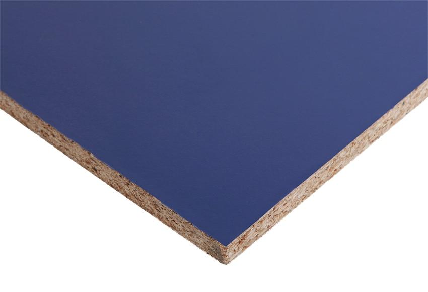 Tablero melamina azul melamina azul ref 14632016 leroy - Corte tableros a medida leroy merlin ...