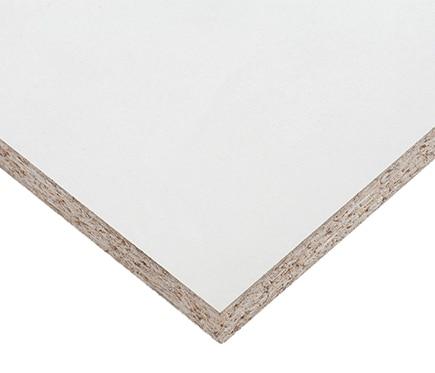 Tablero melamina blanco liso melamina blanco ref 11034135 leroy merlin - Tablero blanco ...