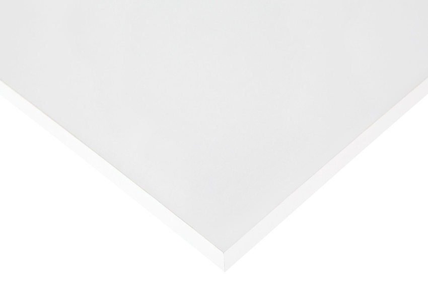 Tablero canteado 4 cantos melamina blanco 4c ref 10337201 - Corte tableros a medida leroy merlin ...