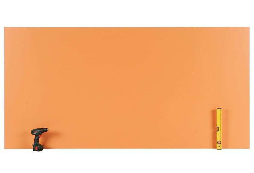 Tablero melamina naranja melamina naranja ref 14632030 - Corte tableros a medida leroy merlin ...