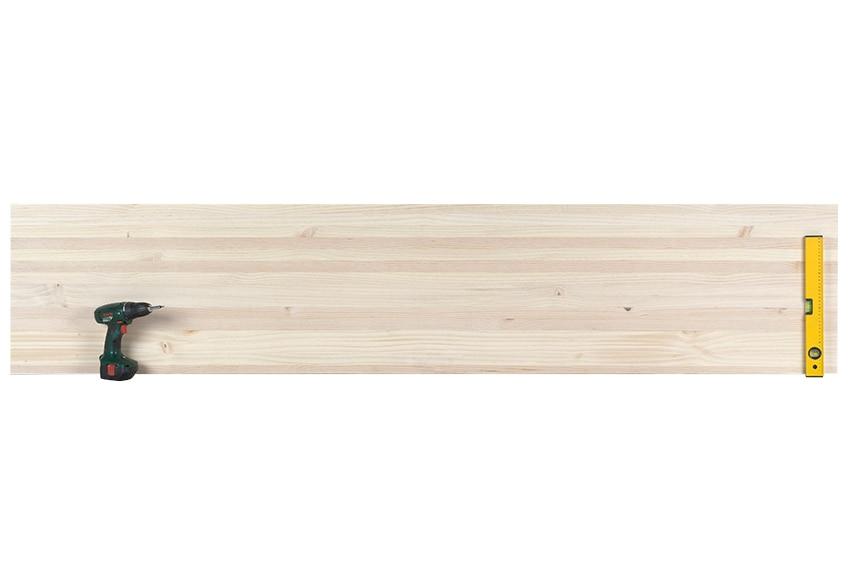 Tablero macizo de pino pino con nudos ref 12050766 - Tableros de pino ...