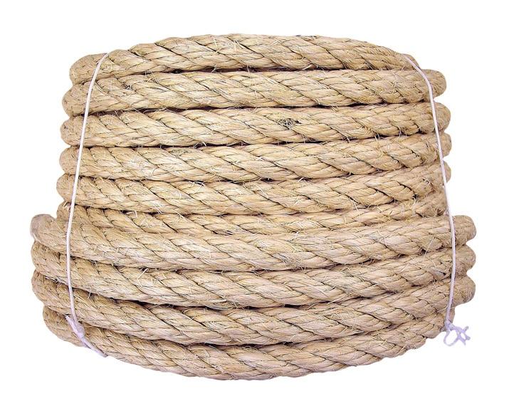 Cuerda precortada cableada sisal ref 15888481 leroy merlin - Cuerda de esparto leroy merlin ...