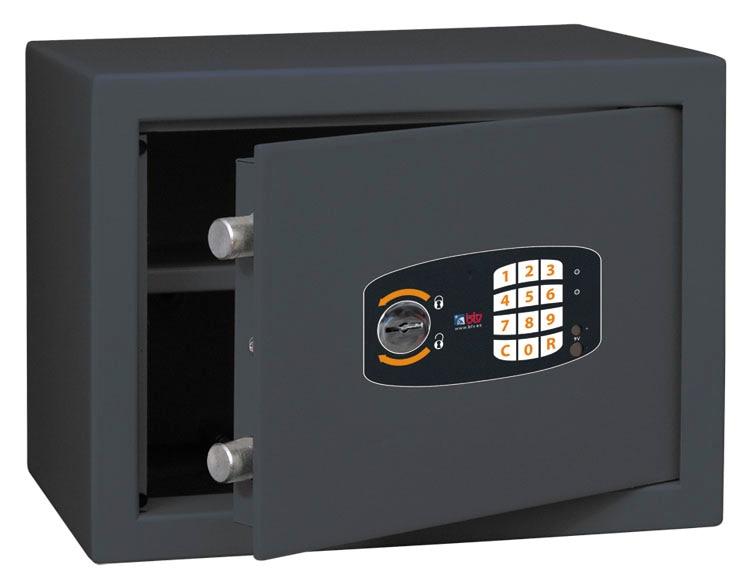 Caja fuerte de superficie btv smart 250 17l ref 16291226 - Caja fuerte btv ...