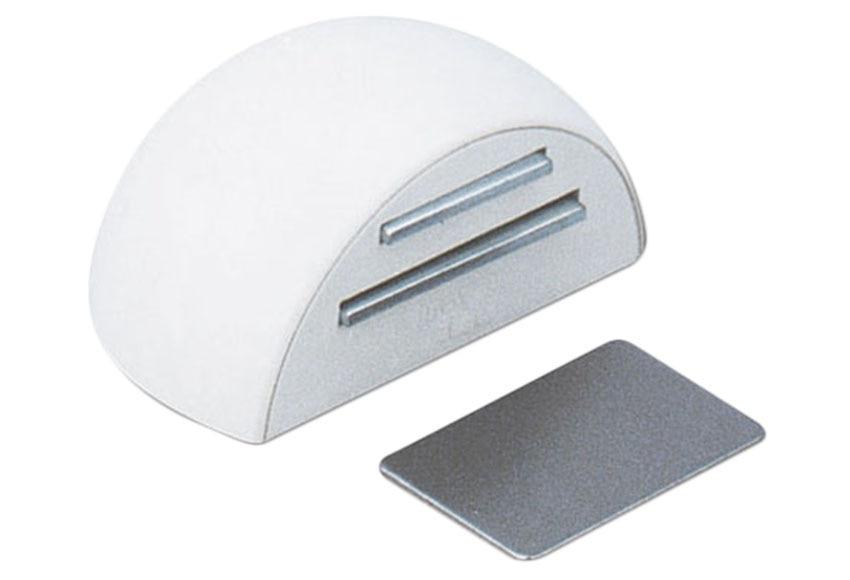 Retenedor adhesivo blanco tope magn tico 2034 ref for Iman adhesivo leroy merlin