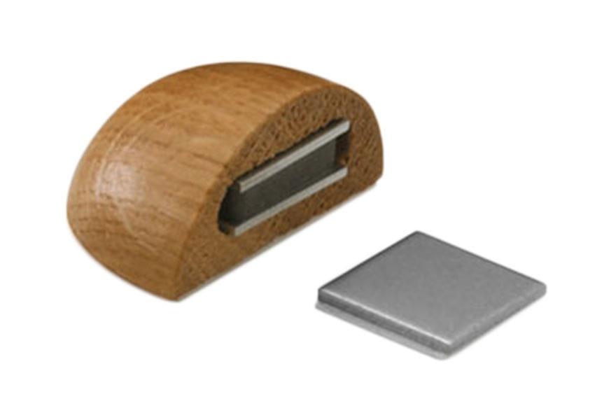 6 retenedores adhesivos roble tope magn tico 2036 ref - Topes puertas leroy merlin ...