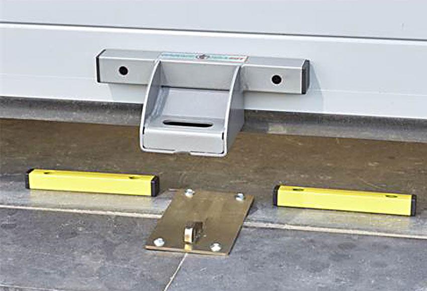 Antirrobo mottez puerta de garaje ref 19765613 leroy merlin - Topes puertas leroy merlin ...