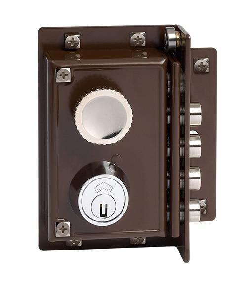 5240 marron leroy merlin - Cerradura seguridad puerta ...